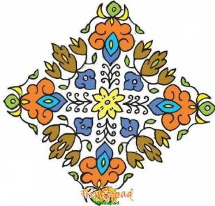 Sankranti Rangoli Designs, Pongal Rangoli Patterns, Dots Muggulu