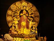 BD Block Durga Puja