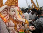 Ganesh immersion in Hyderabad 3