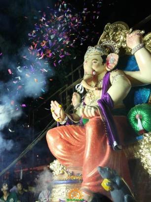 Gigaoncha Vignaharta 2013 ganpati idol