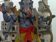 Hyderabad Ganesh Nimajjanam 2013 1