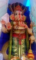 108-feet Ganesh at Vizag MVP Colony 3