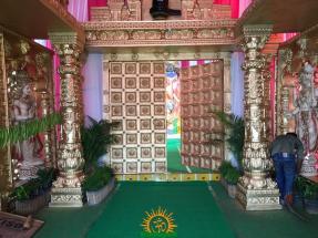 Balapur Ganesh 2016 setting 6