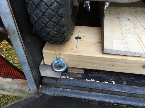 Kleines Detail: Hier wird die Rampe eingehängt.