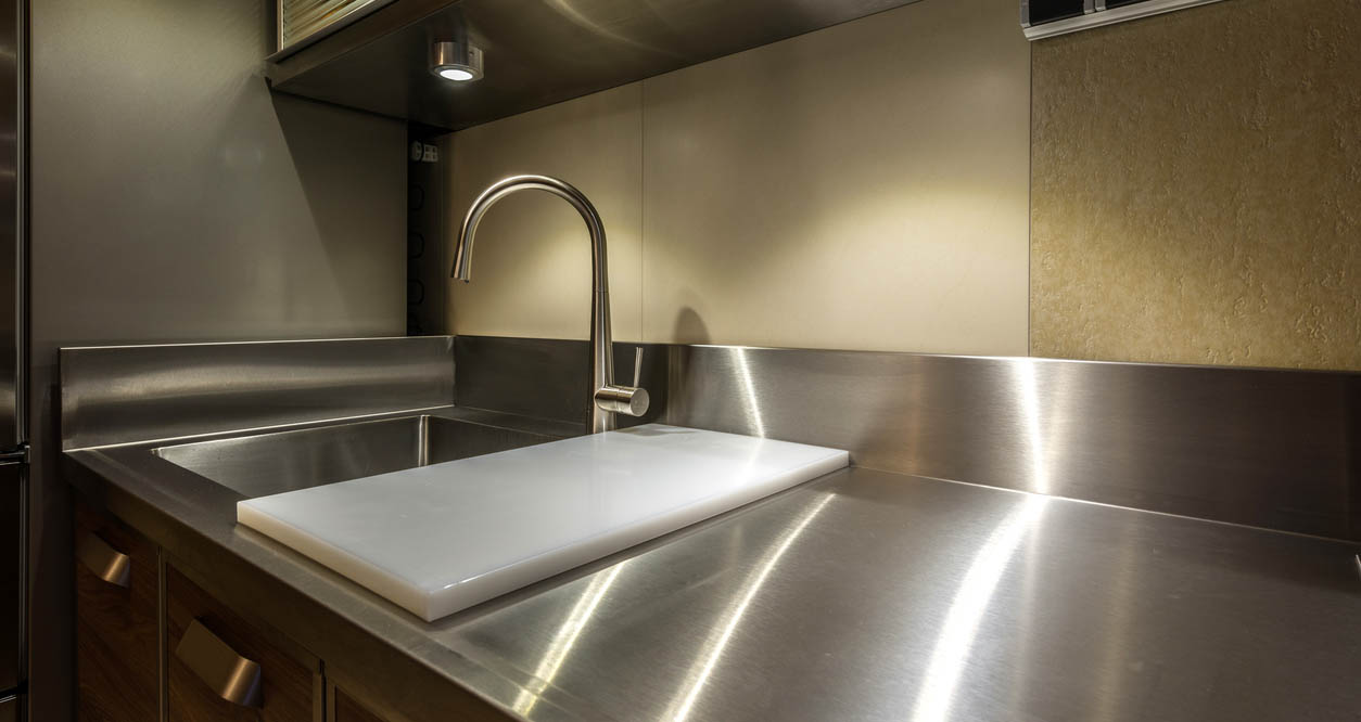 Stainless Countertop Are Stainless Steel Countertops Right For Your Home Hinman
