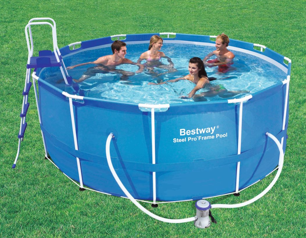 Solarfolie Pool Zuschneiden Pool Reinigen Bestway Intex Deluxe Wall Mount Swimming Pool