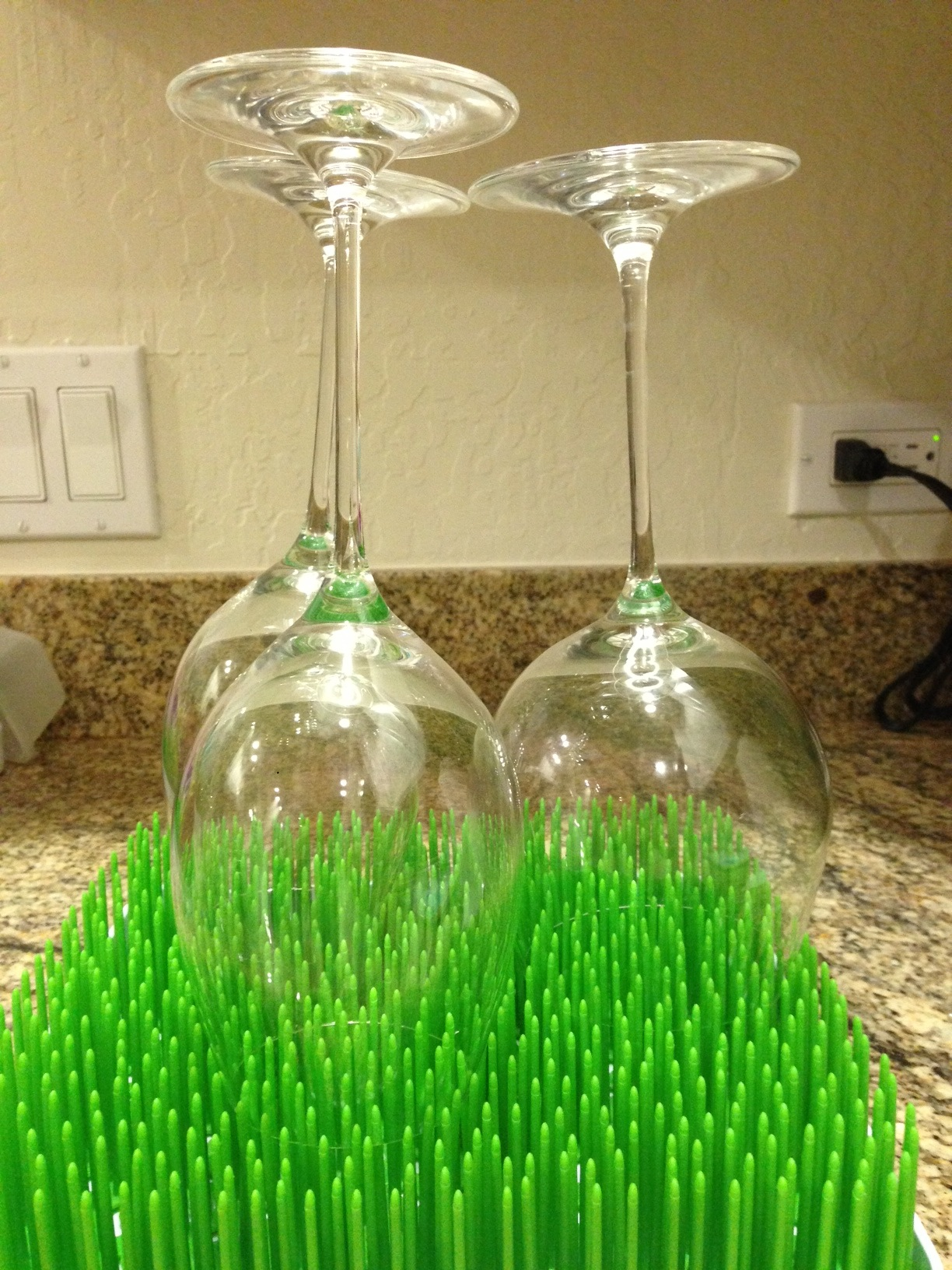 Countertop Wine Glass Holder Todays Hint How To Make Baby Bottle Drying Racks Worth