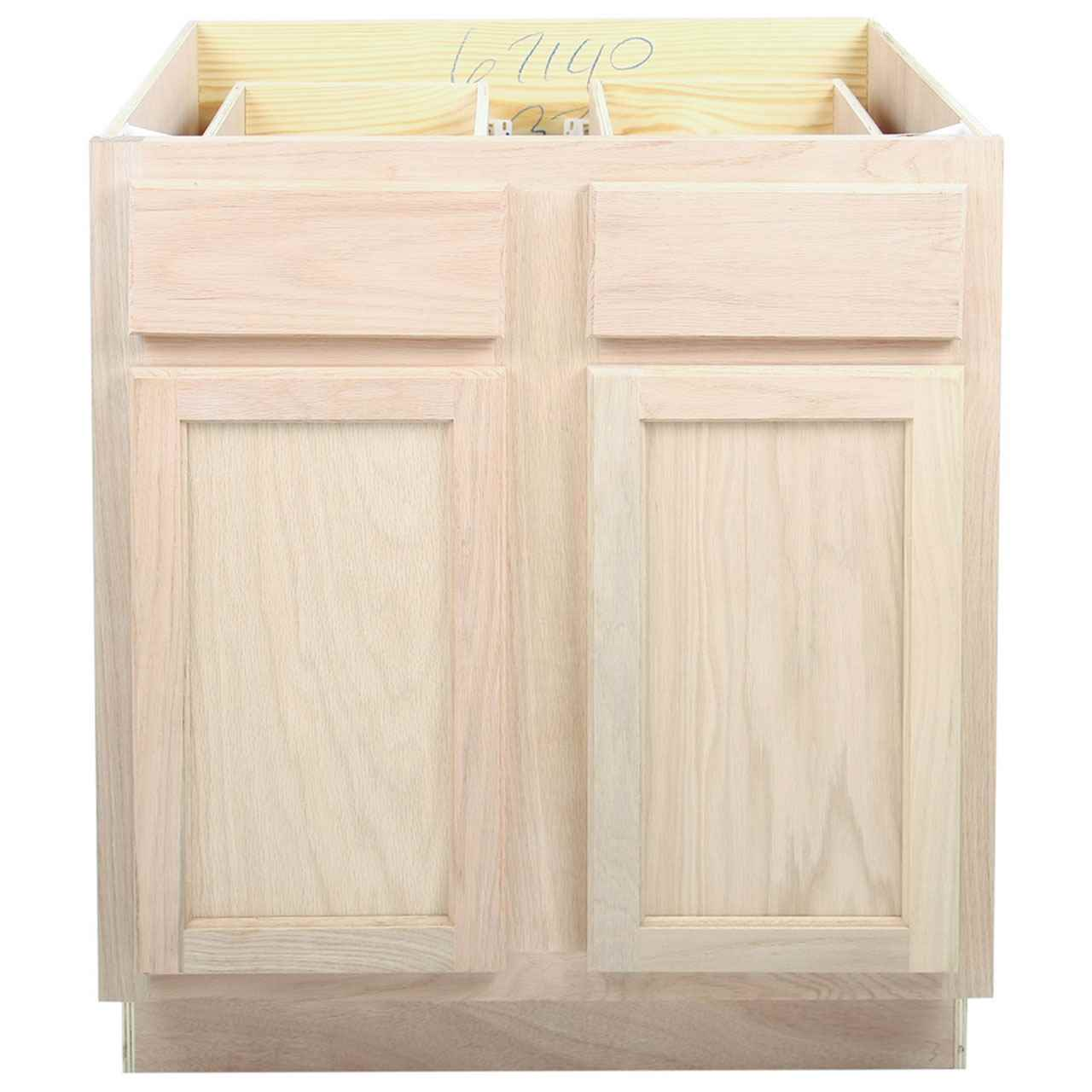 Saco Unfinished Bc Kitchen Base Cabinet Full Height 36 Inch 42 Inch Saco Collection Unfinished Kitchen Base Cabinets The Home Improvement Outlet