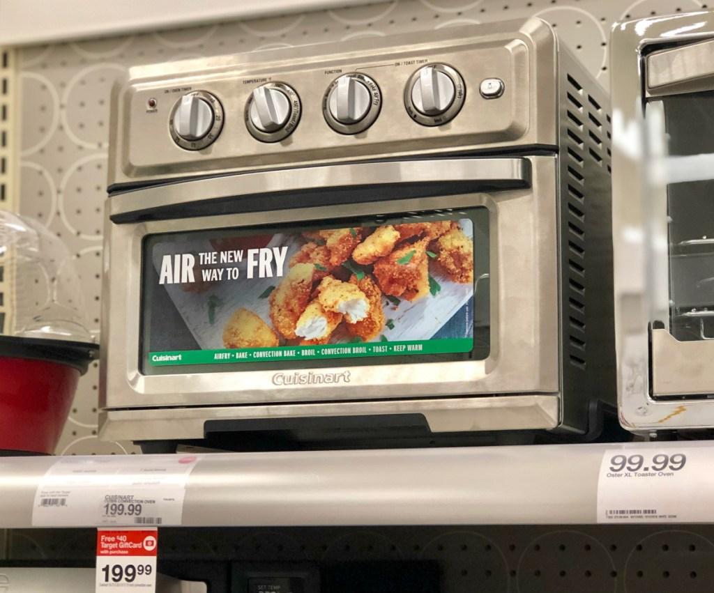 Cuisinart Air Fryer Oven Game Day Target Food Deals Bacon Cheese Trays More