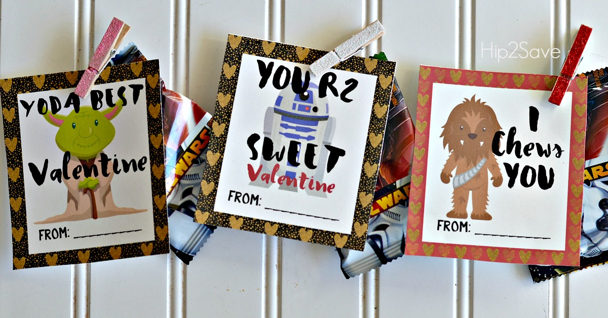 Star Wars Inspired Classroom Valentines (With Free Printables