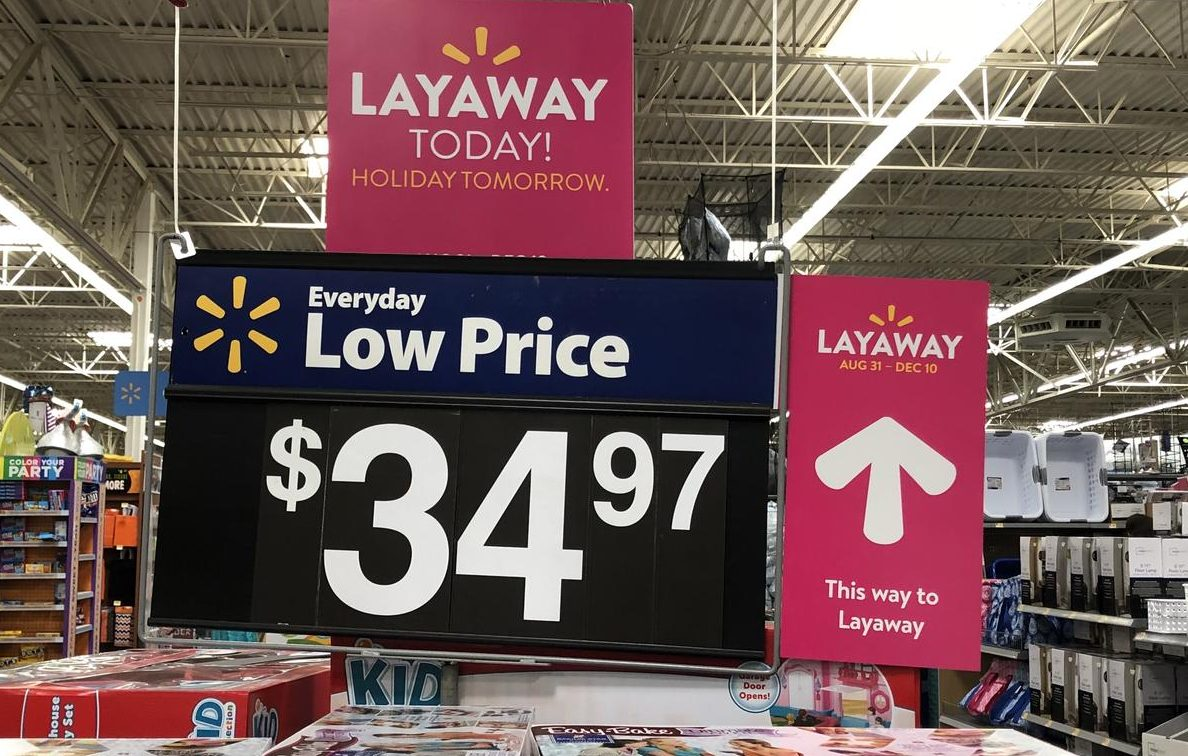 Furniture Stores Near Me With Layaway Get Ready For The Holidays Walmart S Layaway Service Starts