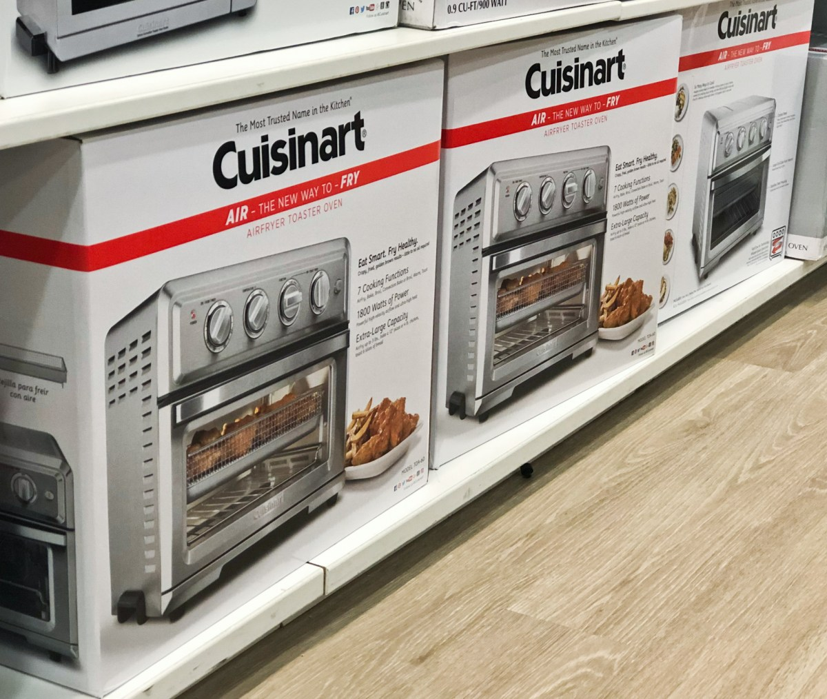 Cuisinart Air Fryer Oven Cuisinart Air Fryer Toaster Oven As Low As 132 99 Shipped