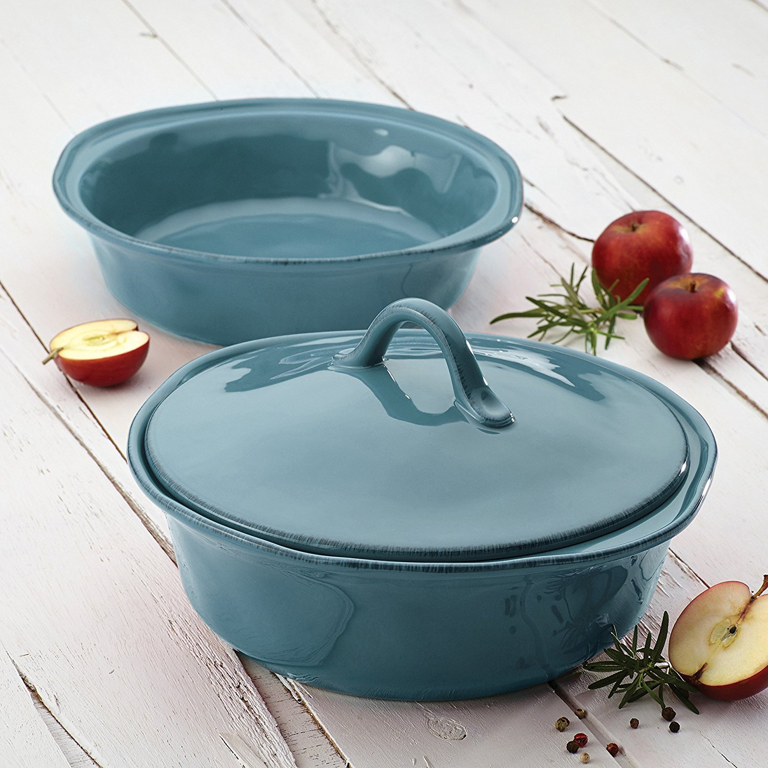 Cucina A Gas Amazon Amazon Rachael Ray 3 Piece Round Casserole Lid Set Just 28 79