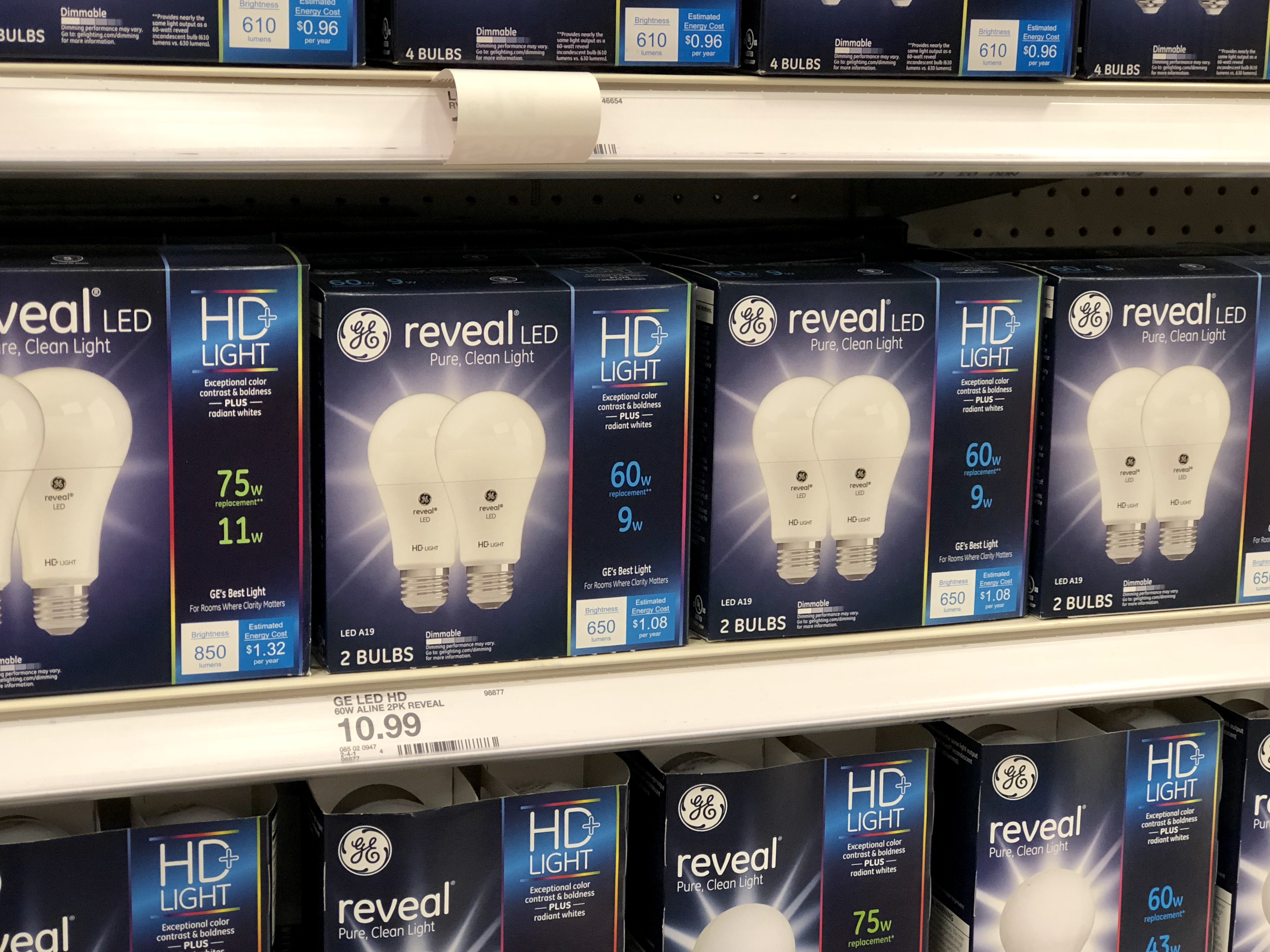 Target Light Bulbs 50 Off Ge Reveal Light Bulbs At Target In Store Online Hip2save