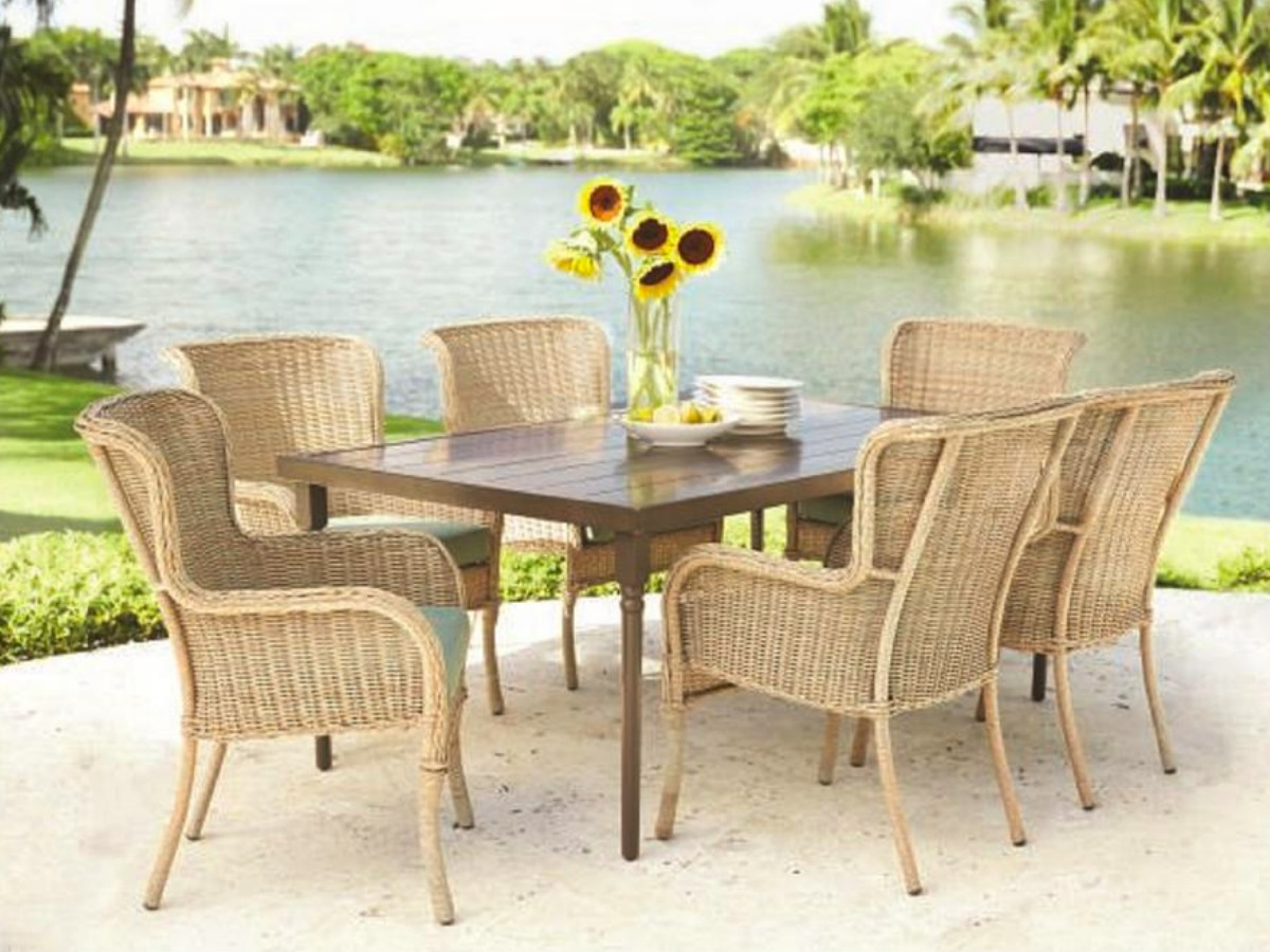 Outdoor Patio Furniture Dining Table Over 50 Off Patio Furniture Dining Sets At Home Depot Free