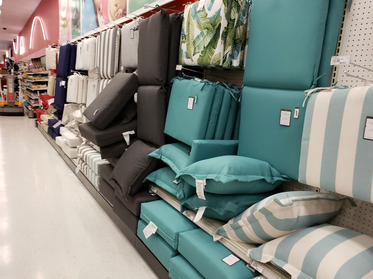 Pillows On Sale At Target Buy One Get One 50 Off Outdoor Pillows Cushions At Target In