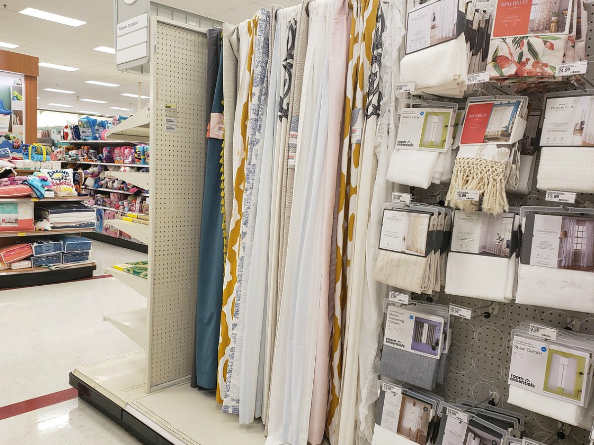 Target Curtain Panels Buy 1 Get 1 40 Off Curtains Accessories At Target As Low