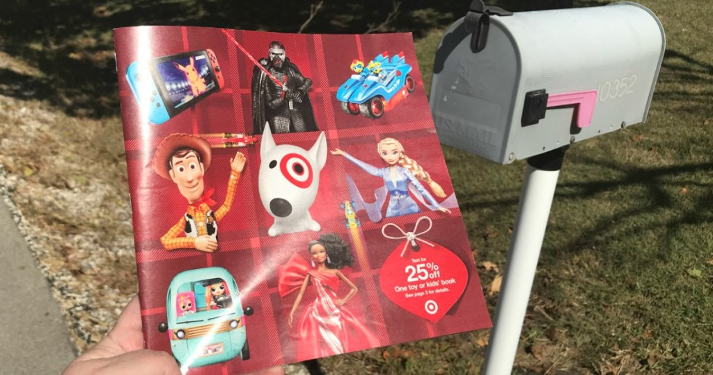 Check Your Mailbox For Target S 2019 Holiday Toy Catalog