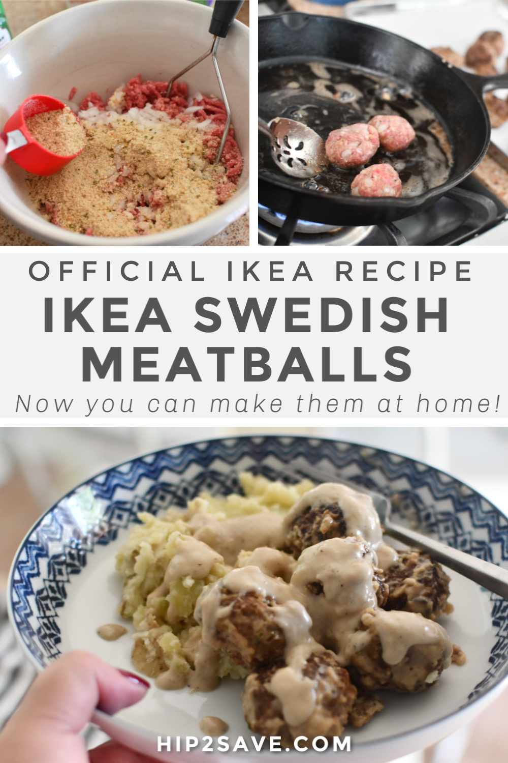 How To Make Ikea Swedish Meatballs Recipe At Home Hip2save