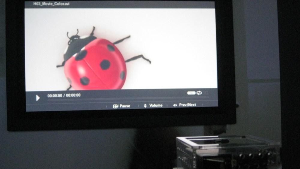 El nuevo Pico proyector de Samsung LED es diminuto [IFA 2010]