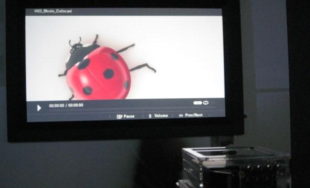Samsung LED Pico proyector