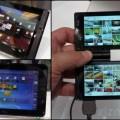 Fujitsu muestra prototipo de teléfono con doble pantalla y dos tablets con Windows 7