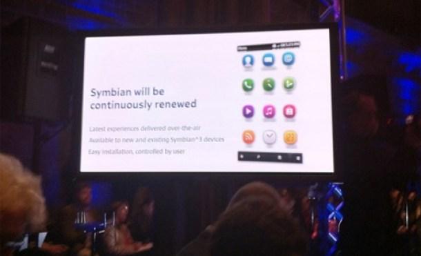 Nueva interfaz de Symbian