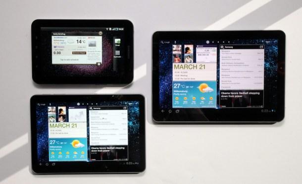 Familia Samsung Galaxy Tab