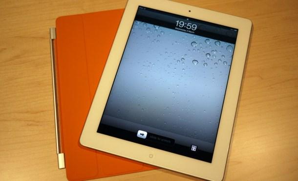 iPad 2 en blanco