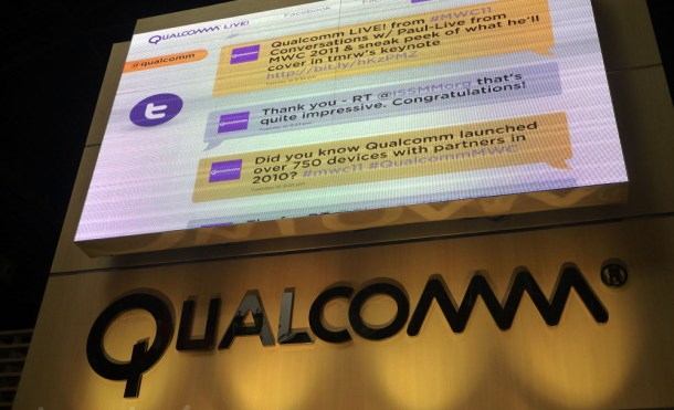 Qualcomm logo MWC 2011