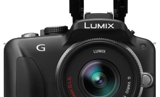 Lumix G3 frontal flash