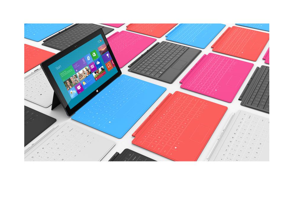 Microsoft-tableta-teclado-coloridos