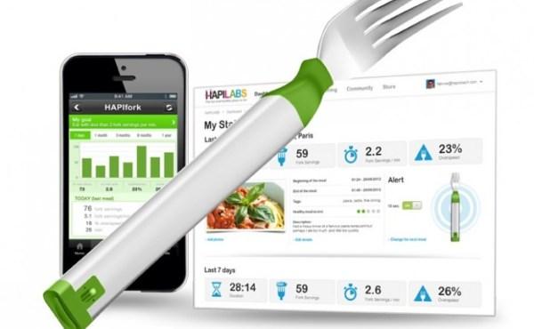 HAPIfork, el tenedor capaz de medir como comes