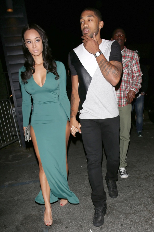 draya michele and boyfriend orlando scandrick hold hands