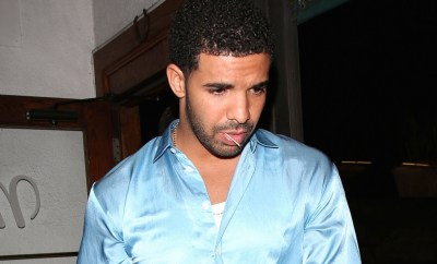 Rapper Drake leaves Madeo Restaurant after having a low key dinner date with three girls and a friend in Los Angeles
