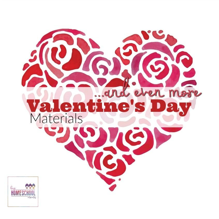 Even More Valentine\u0027s Day Printables, Activities, and Ideas Hip