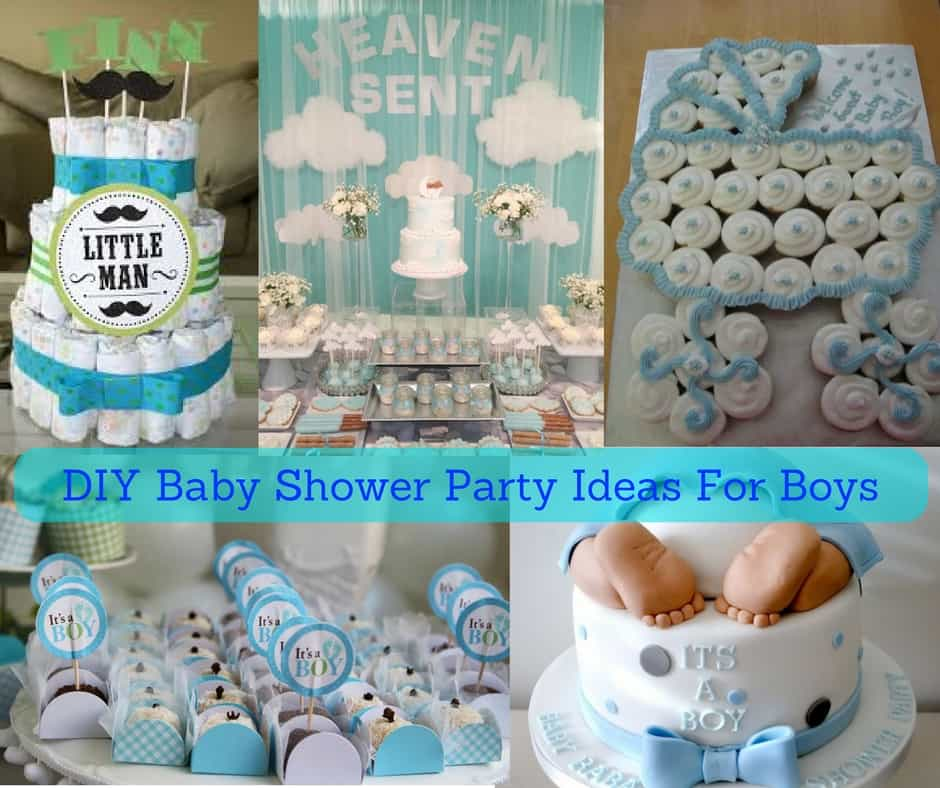 DIY Baby Shower Party Ideas For Boys (August 2018) CHECK