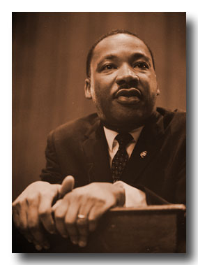 Reverend Dr Martin Luther King came from a long line of Black preachers who represented Prophetic Teachings