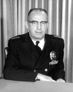 LAPD Chief William H Parker