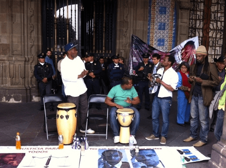 Afro-Mexicans on Hunger Strike to Protest Death of Malcolm X's Grandson