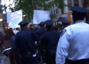 Police attack CUNY students