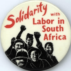 South Africa labor strike