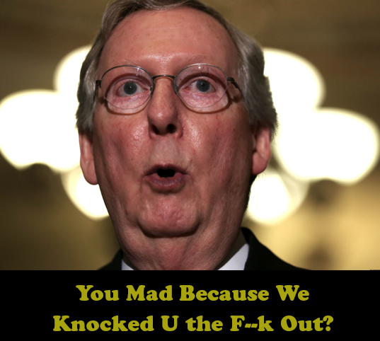 You Mad Because the GOP Knocked You Out?