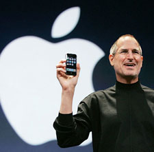 Apple CEO-Steve Jobs-His innovativeness put APPLE on top. Imagine if he was to run Clear Channel?