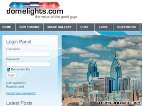 Domelights is a privately run website used by police in Philadelphia where they routinely post up racist rantings including one where they referred to Black kids discriminated at a Philly country club-Ghetto Monkeys'