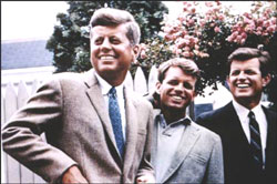 The Kennedy brothers ushered in the Age of Camelot