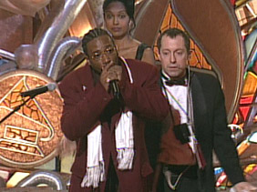 Long before Kanye, the late ODB was known for bumrushing stages during award shows. At least ODB said he was doing it for the kids