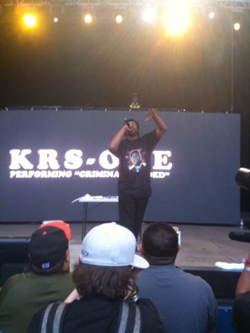 Click HERE to hear the Breakdown FM KRS-One interview we did at Rock the Bells
