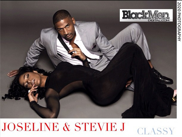 joseline hernandez and stevie j black men magazine