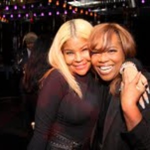 Misa Hylton and Mona Scott